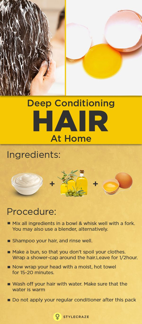 Deep Conditioning For Hair At Home Diy hair treatment