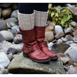 Lacy Boot Cuffs (Free)