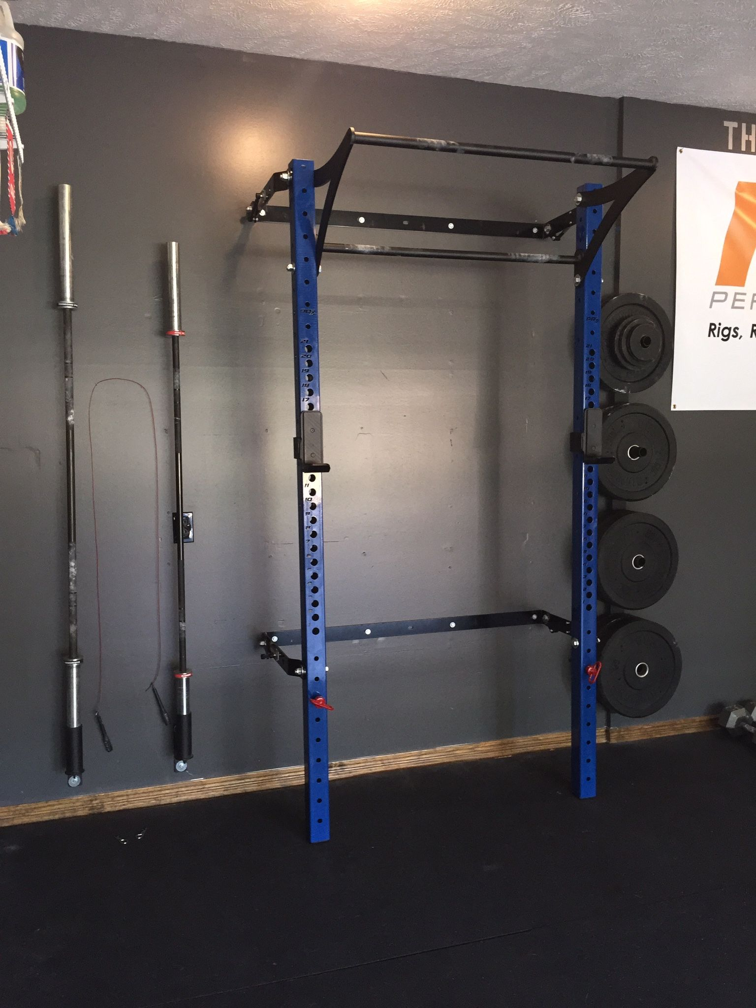 Personal trainer turns garage into a crossfit gym garage