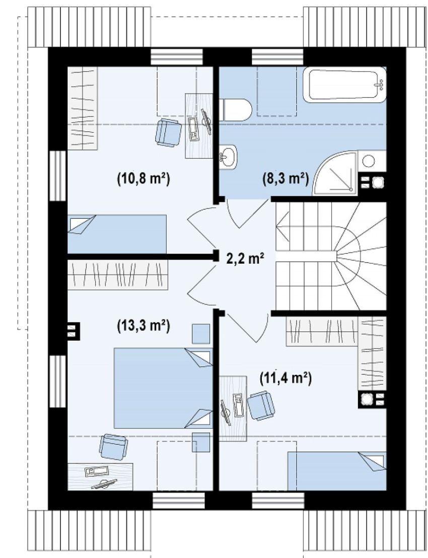 proiecte de case de 100 de metri patrati 1,000 square feet house ...