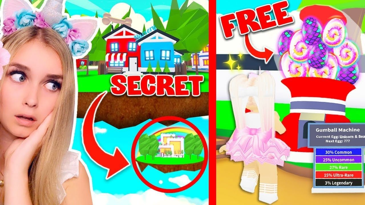 This New Secret Location Gives You Free Legendary Pets In Adopt Me Roblox In 2020 Roblox Secret Location Adoption