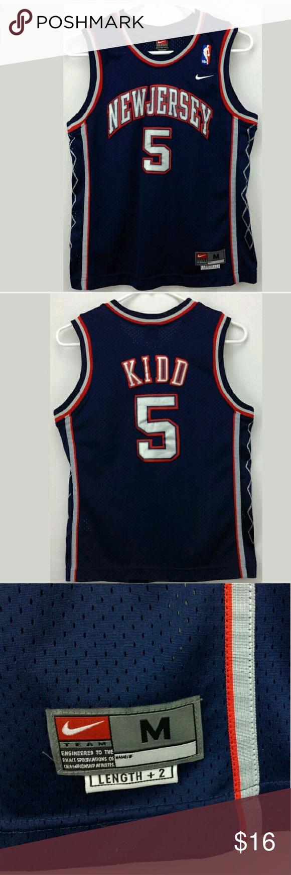 f72756d36 NBA NewJersey Nets Jason Kidd Basketball Jersey Vintage Nike NBA New Jersey  Nets Jason Kidd Basketball Jersey. Excellent Condition No Tears