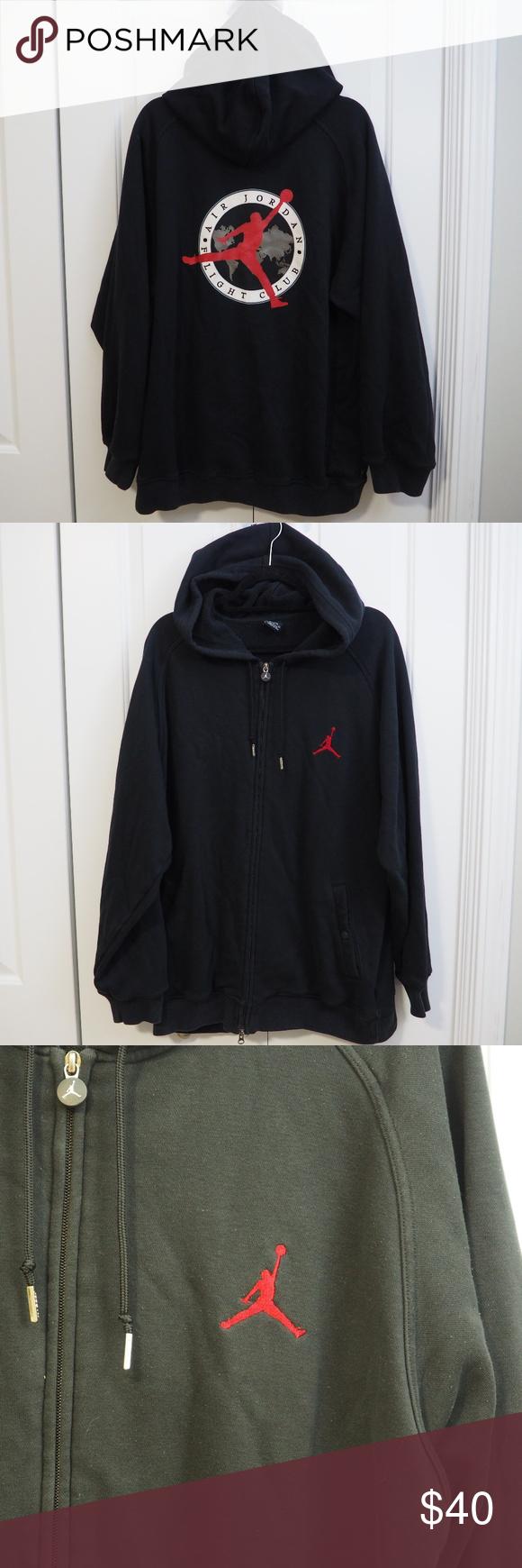 Air Jordan Flight Club Zip Up Hoodie Sweatshirt Sweatshirts Hoodie Sweatshirts Hoodies [ 1740 x 580 Pixel ]