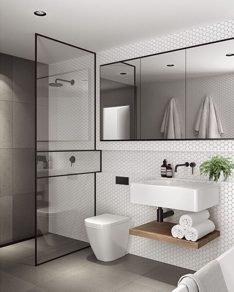 Elegant Bathrooms Ideas Decor Around The World Elegant Bathroom Bathroom Design Bathroom Interior Design Minimalist bathroom decor idea