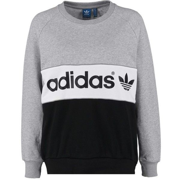 adidas Originals CITY Sweatshirt medium grey heatherblack