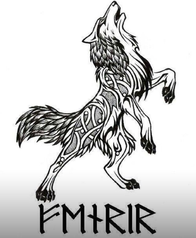 Coloring Page Celtic F C: Norse Tattoo, Wolf Tattoos, Viking Tattoos