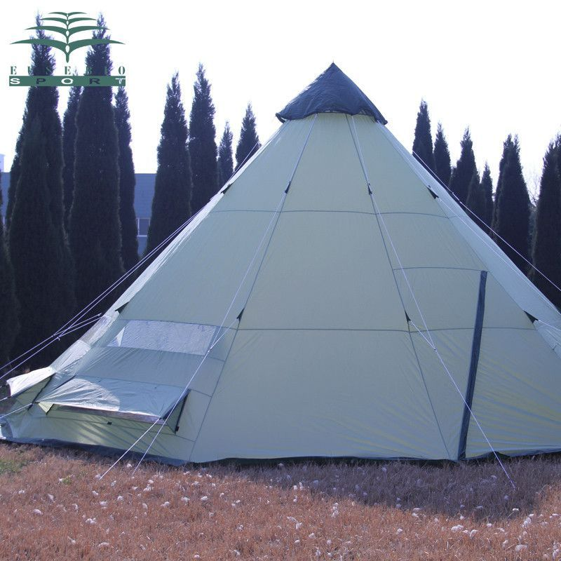 is_customized: Yes Area: 550 * 550 * 300cm Brand Name: ES Layers: Single Structure: One Bedroom Outside Tent Waterproof Index: 2000-3000 mm Style: Outdoor Capacity: 8+ Bottom Waterproof Index: Type: 5