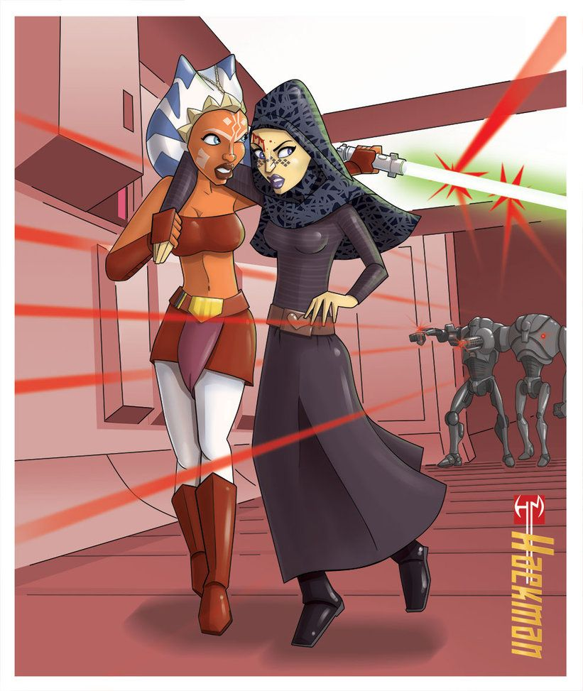 Sexy star wars cartoon
