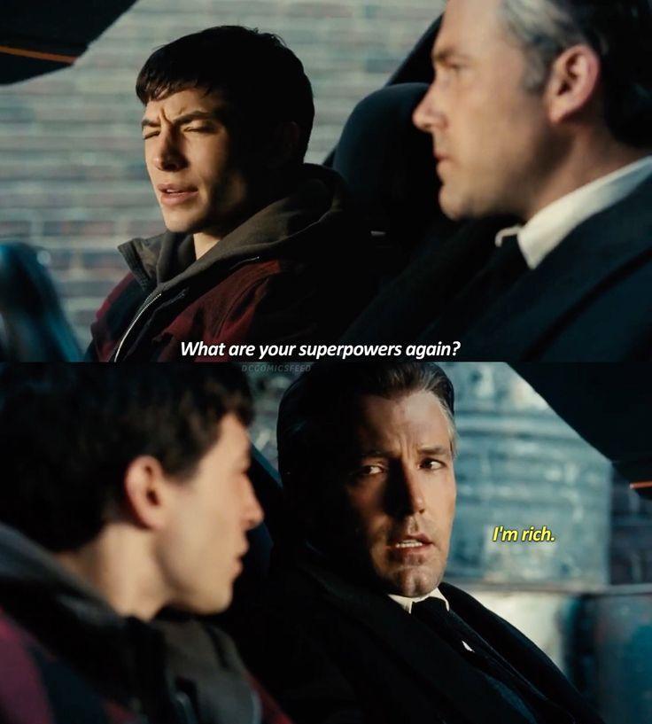 DC Comics When youre Batman you dont need superpowers! I'm rich - Batman Funny - Funny Batman Meme - #batman #funnybatm… | Batman funny, Batman meme, Super powers