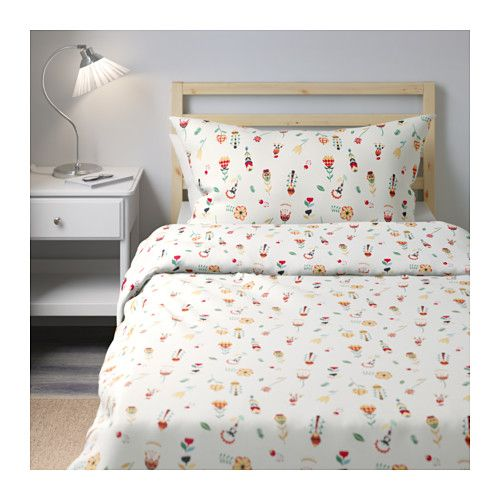 Rosenfibbla Duvet Cover And Pillowcase S Twin Ikea
