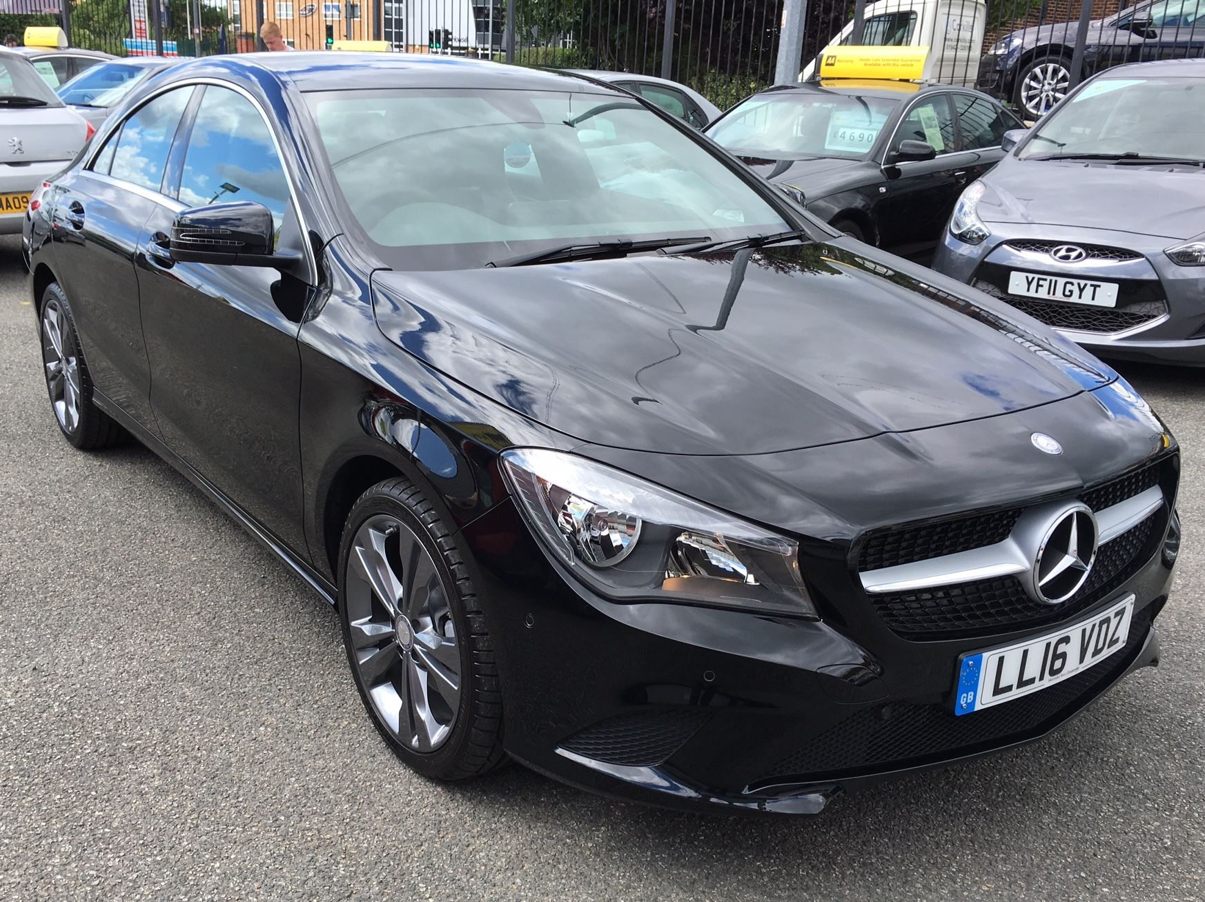 The Mercedes CLA 200d Sport We Supplied! #carleasing #carlease