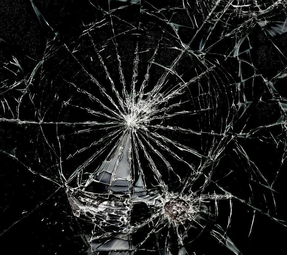 Broken Screen Wallpaper: Shattered Broken Wallpaper