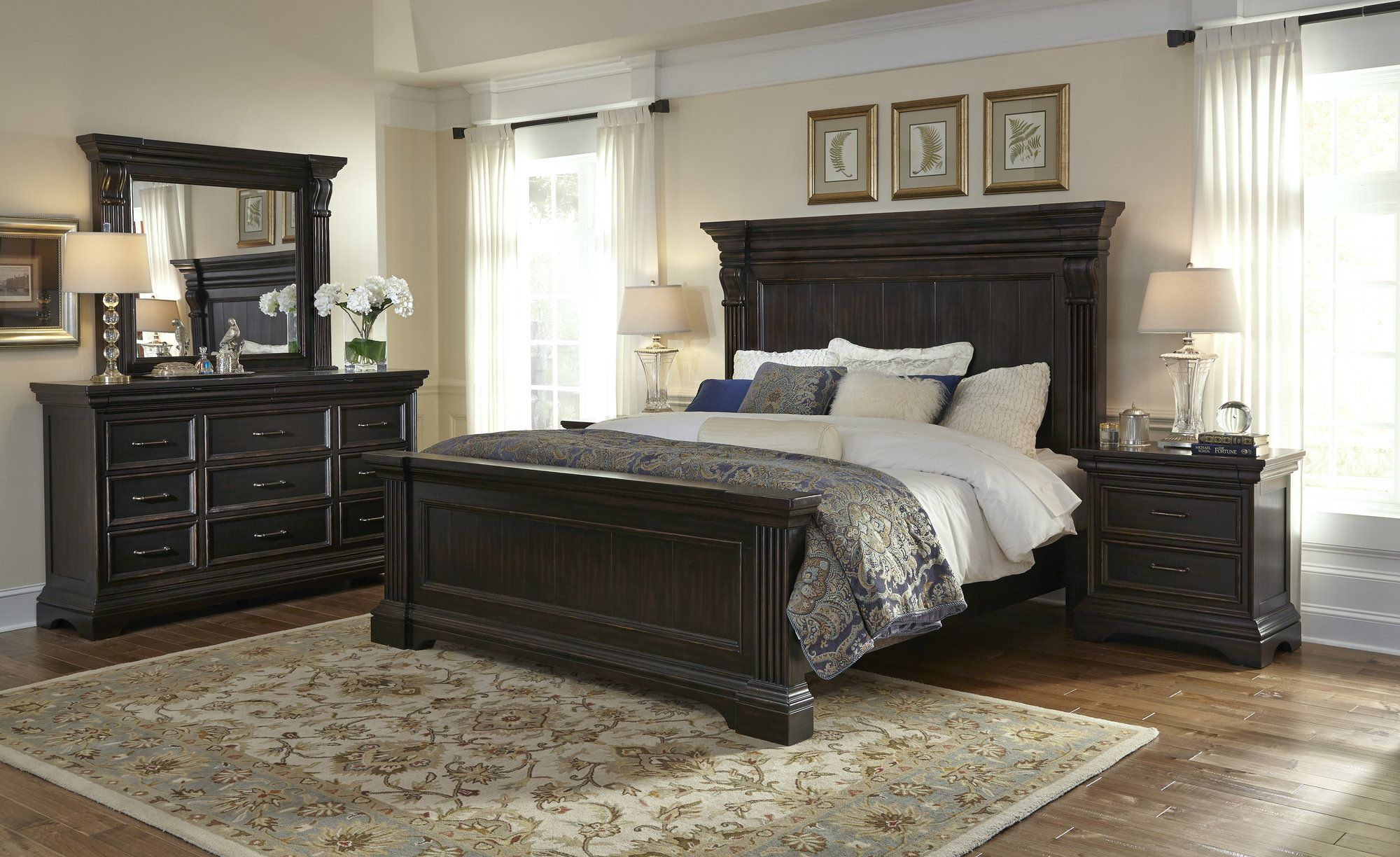 Glencoe 2 Drawer Nightstand King bedroom sets, Bedroom