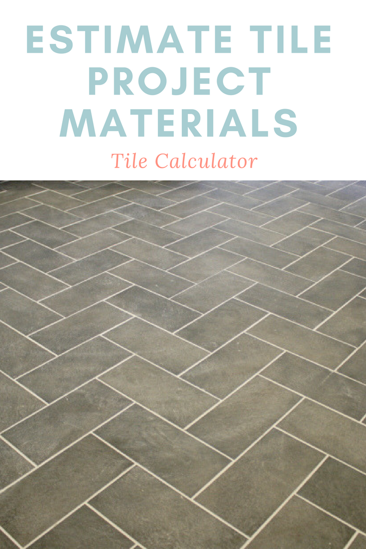 Tile Calculator and Cost Estimator - Plan a Floor, Wall ...