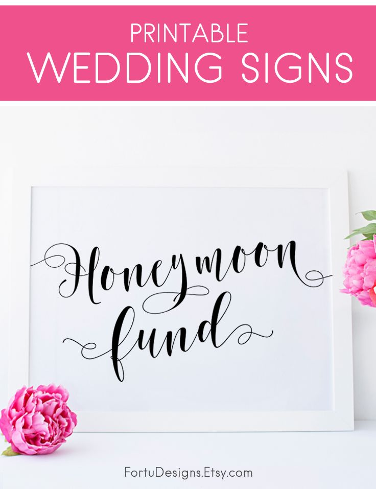 Honeymoon Fund Sign Wedding Ideas Honeymoon Sign Wedding Etsy Honeymoon Fund Sign Wedding Decorations On A Budget Honeymoon Fund Jar