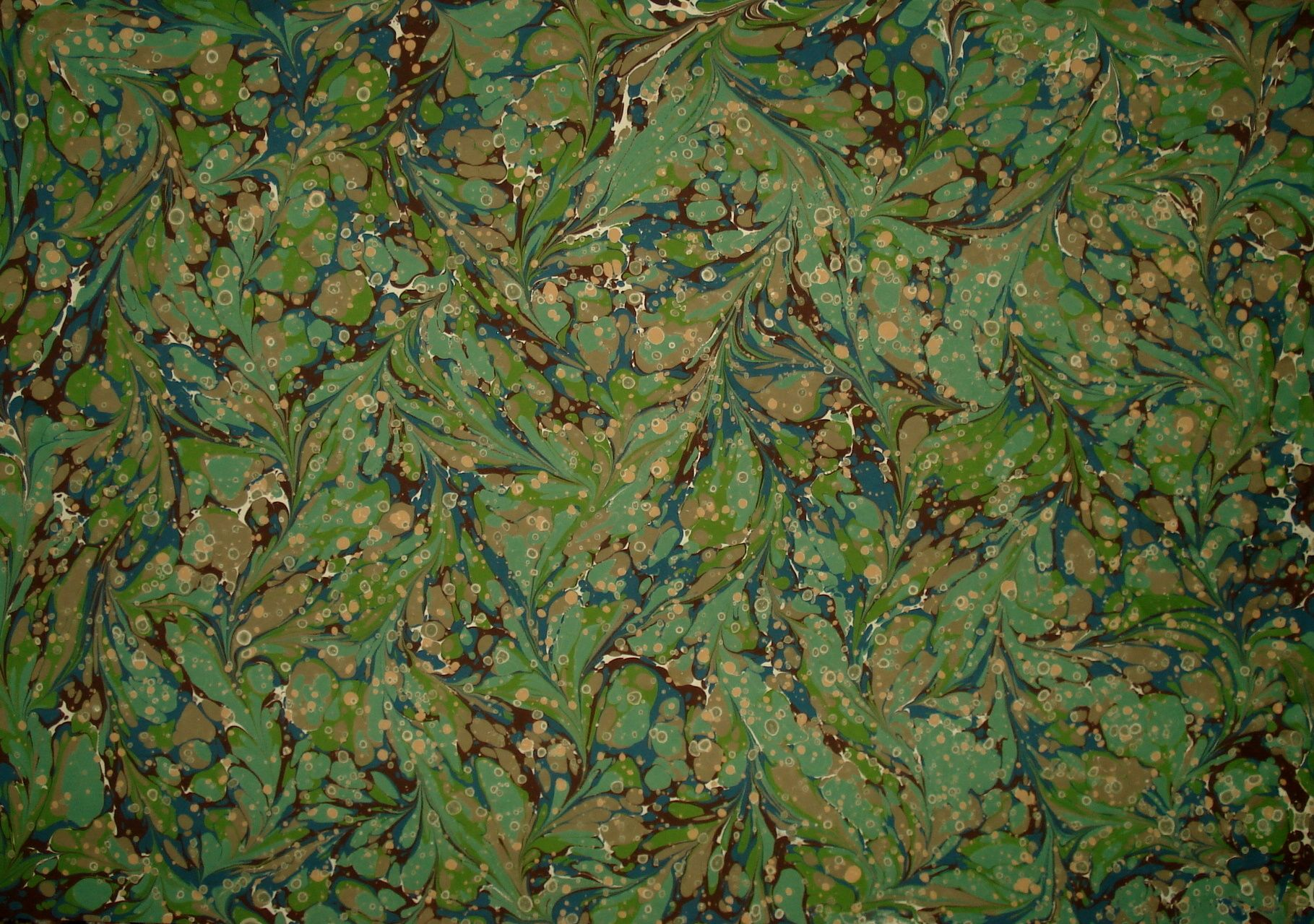 Şal Ebru marbled pattern by Turkish artist Melike Kazaz. via Ebru Dükkani