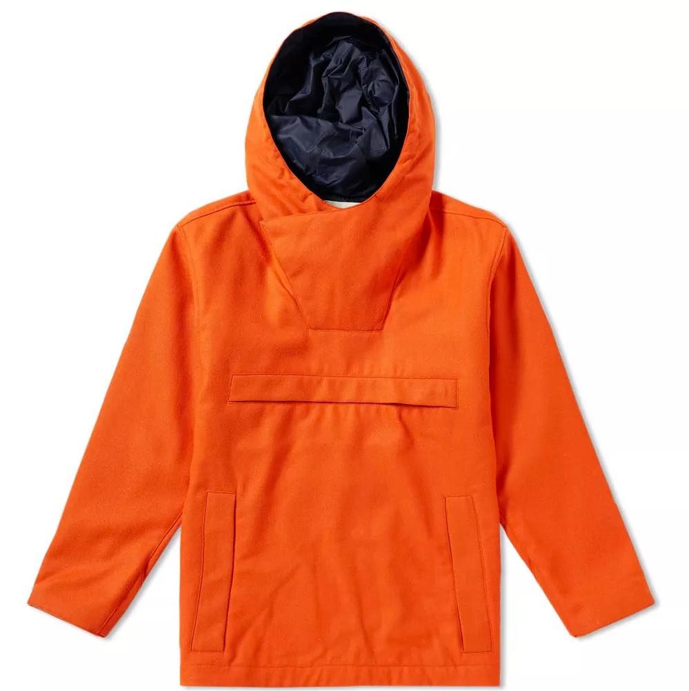 One For Liam Gallagher S Christmas List From Norse Projects Norseprojects Parka Mountainparka Orange Orangejacket Britishmil Norse Projects Jackets Norse