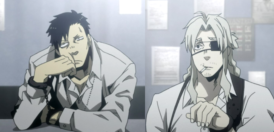 Nicolas & Warick Gangsta anime, Anime shows, Anime