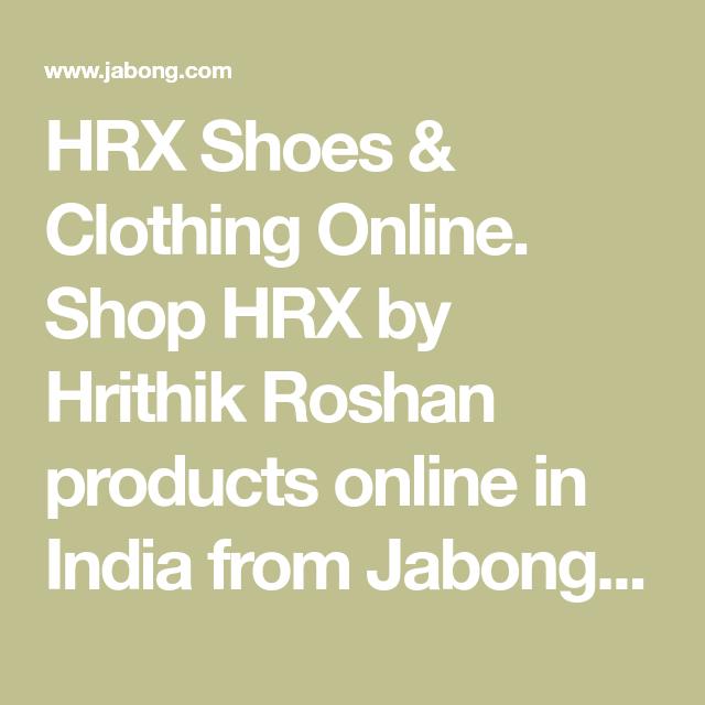 HRX Shoes \u0026 Clothing Online. Shop HRX
