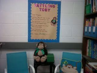 Savvy Second Graders: Tattling Toby