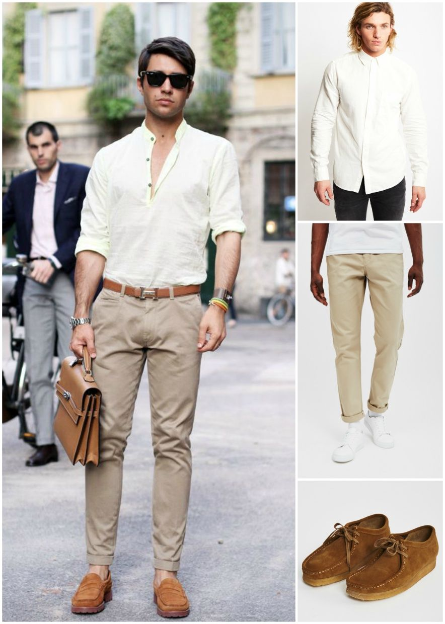 casual shoes with chinos