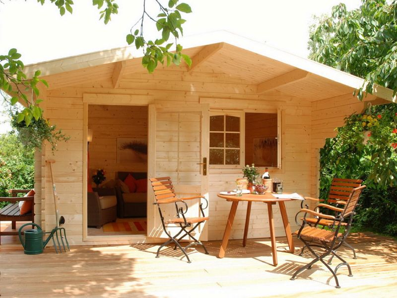 Allwood cabins escape cabin kit 113 sq ft one room