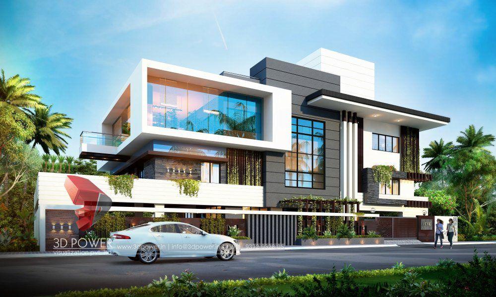 Modern Home Exterior Contemporary Bungalowexteriordesign