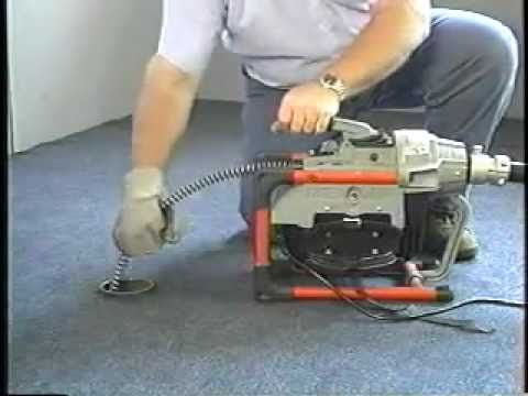Ridgid K-60 Sectional Drain Cleaning Machine - YouTube & Ridgid K-60 Sectional Drain Cleaning Machine - YouTube | DIY ...