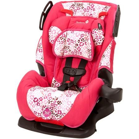 Safety 1st All-in-One Sport Convertible Car Seat, Ruby - Walmart.com ...
