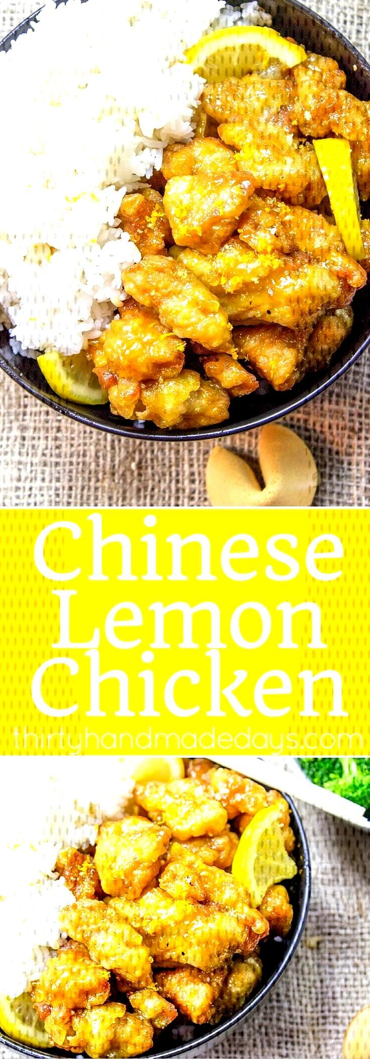 Chinese Lemon Chicken These Glazed Fudgy Lemon Brownies are incredible! Soft, ch... -