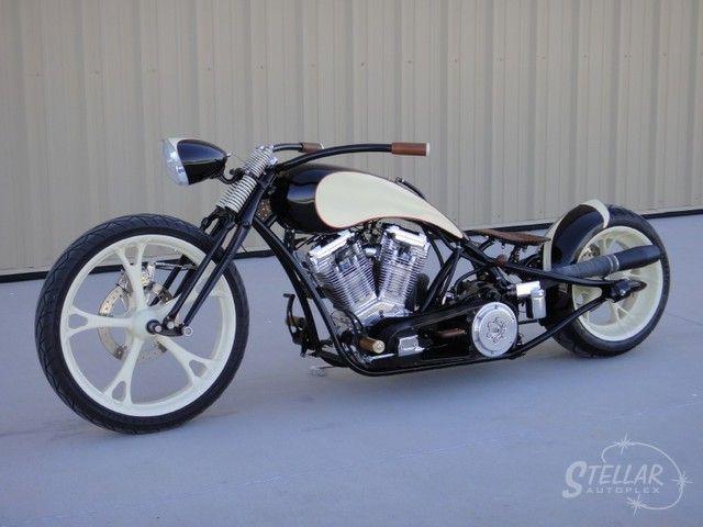2006 Custom Built Motorcycles Independent Cycle Inc Prostreet Bobber Chopper 107ci S Jockey Shift in Chandler, Arizona