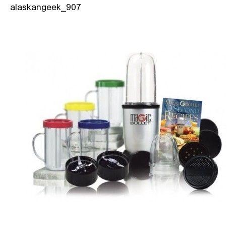Magic Bullet Blender 17 Piece Mixing Set Nutribullet Express Juicer Cups Travel #MagicBullet #MagicBulletBlender