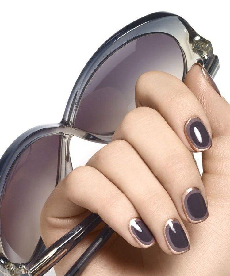 combinación elegante para decorar tus uñas la temporada que viene ...