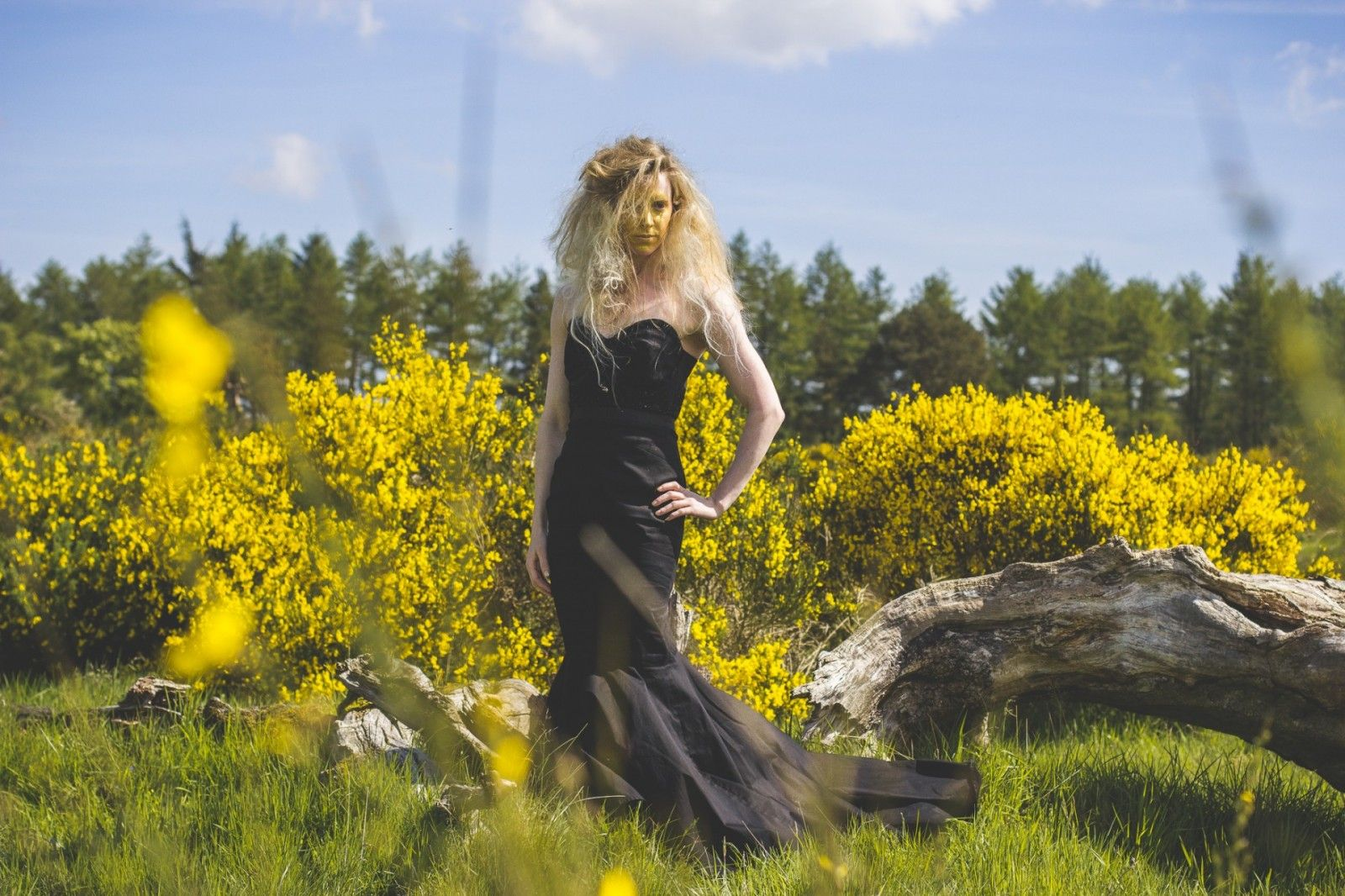 Fields of Gold shoot Model: Hannah Miley Styling: Lynne McCrossan Photographs: Seb Singh