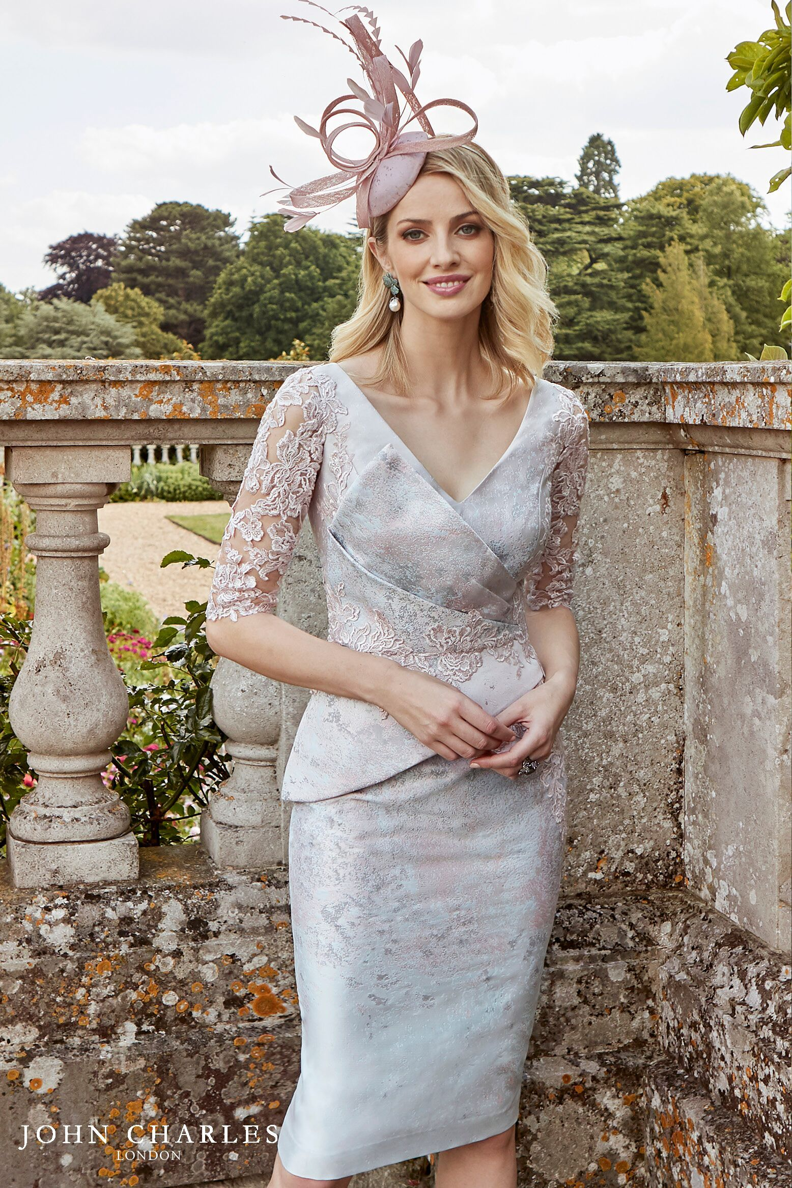 John Charles 26844 Blush Dresses Mother Of The Bride Stunning Outfits