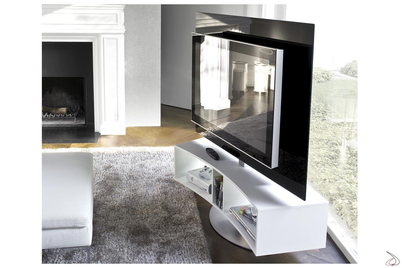 Photo of Porta Tv curvo e girevole Odeon | TopArredi – Arredo Design Online