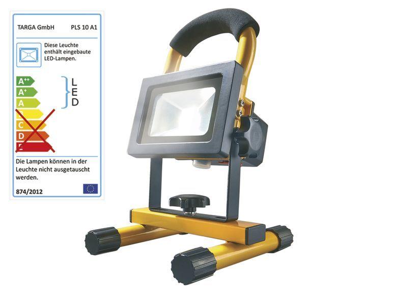 powerfix akku led strahler pls 10 a1 1 lidl pinterest. Black Bedroom Furniture Sets. Home Design Ideas