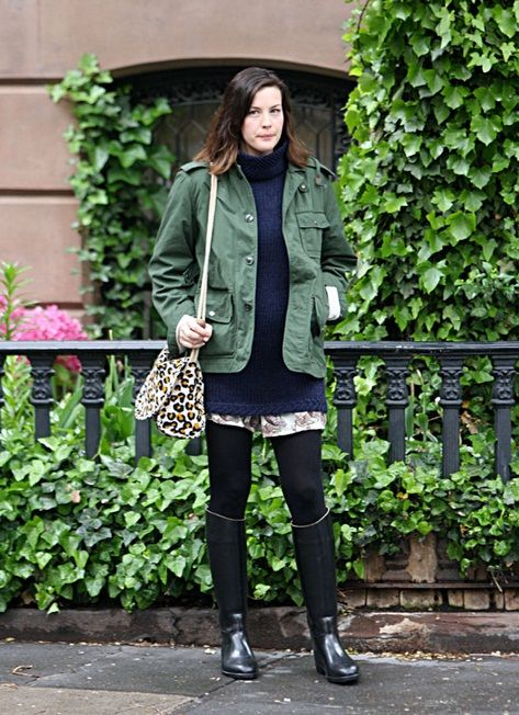Liv Tyler in Aigle Ecuyer Boots -- 'To the Eagle!'