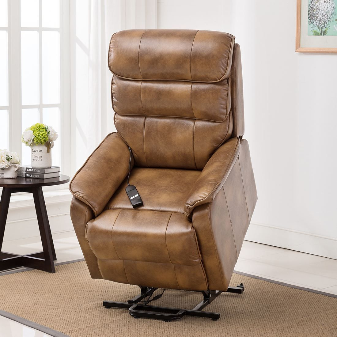 Best leather riser recliner chairs with images