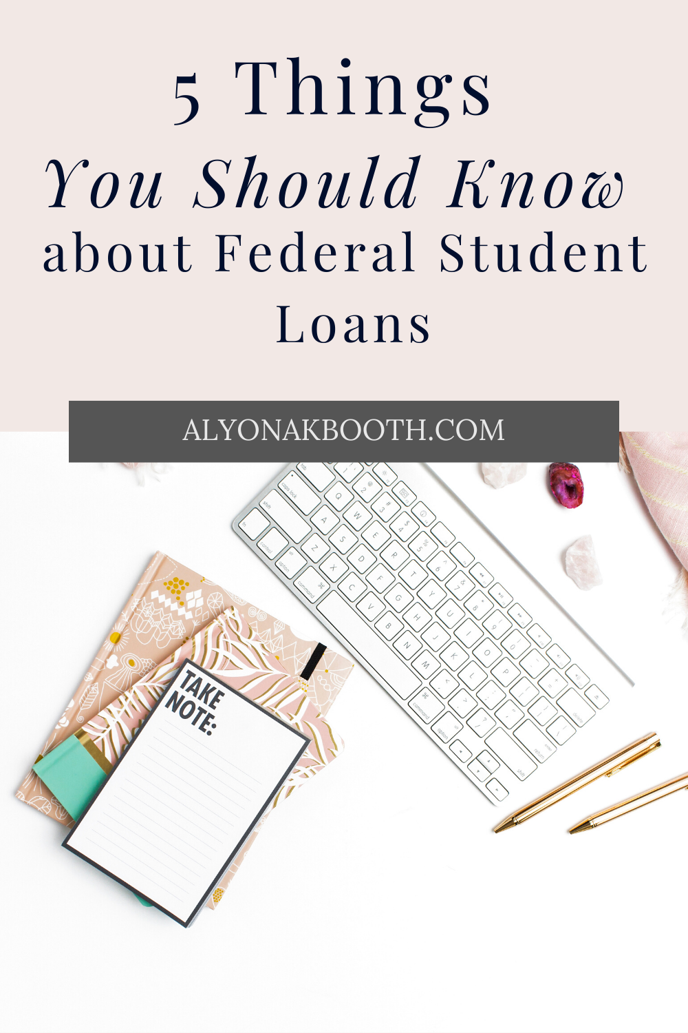 5 Things You Should Know About Federal Student Loans Federal Student Loans Student Loans Financial Aid For College
