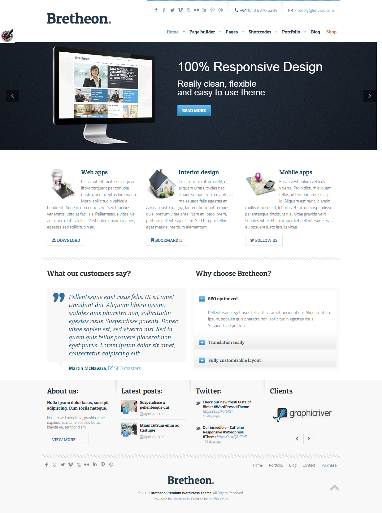 Pin On 1 Wordpress Themes Review 2021