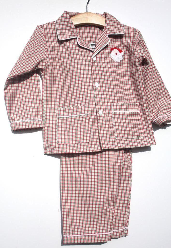 Sweet Dreams Boys Baby Christmas Lightweight Pajamas Santa