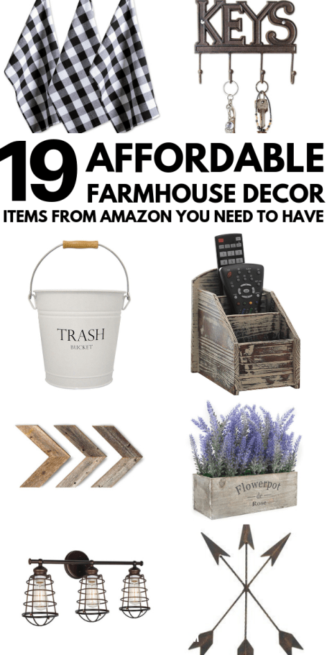 Best Affordable Farmhouse Decor Amazon Has To Offer images