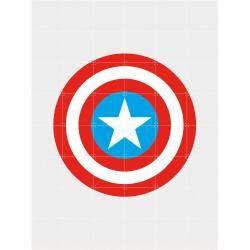 Photo of Marvel Minimalism Captain America Bild