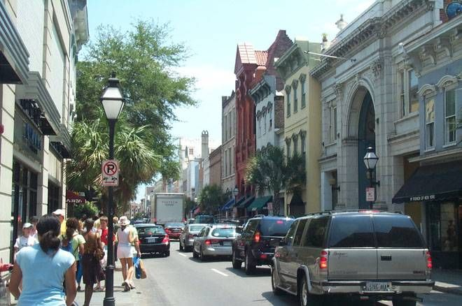 downtown Charelston SC