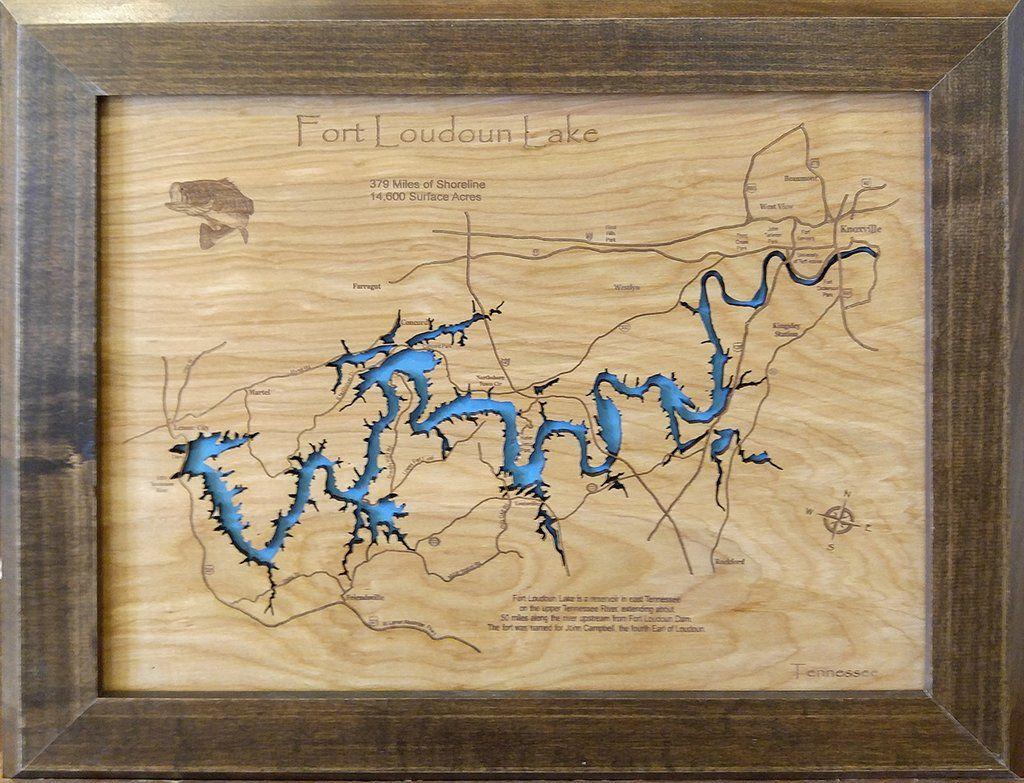 fort loudoun lake map Pin On Fort Loudoun Lake Tennessee fort loudoun lake map