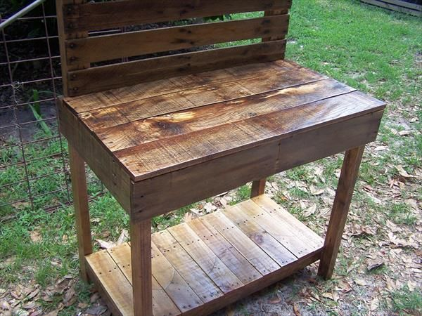 The Barley II Planting Potting Bench/Table/Bar/Buffet By Drucycle
