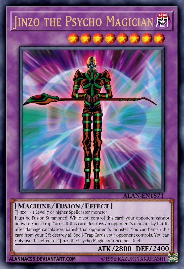 Jinzo The Psycho Magician By Alanmac95 Yu Gi Oh