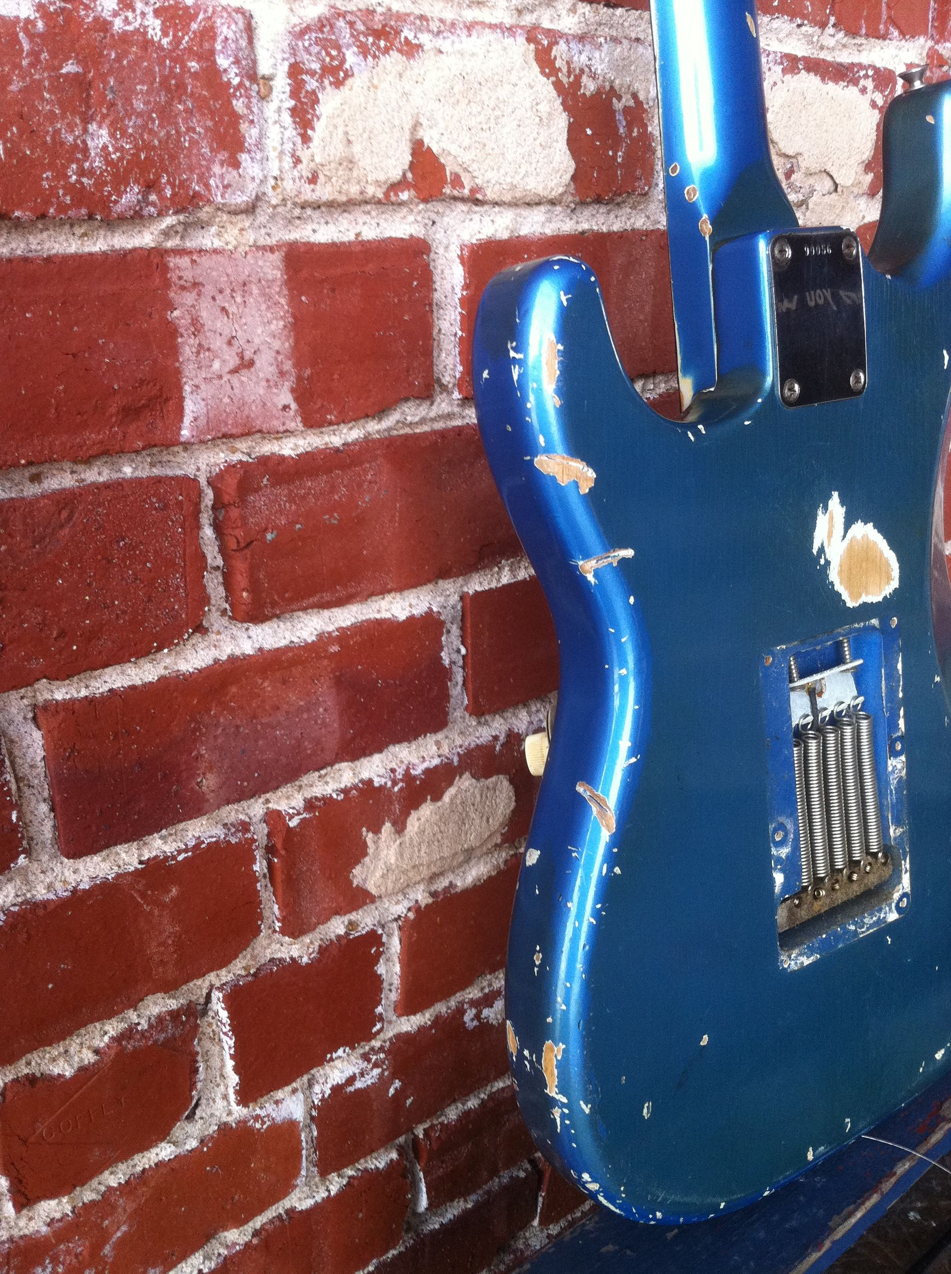 This 1963 Fender Stratocaster Is Thought To Be Guitars For Stars Wiring A Gfs Humbucker Need Detailed Instructions Harmony Central The Only Painted Neck Headstock Done By Company It Still In My Possession
