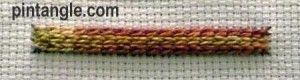 Raised Chain Stitch
